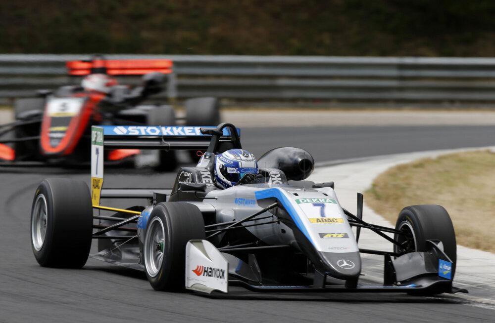 Ralf Aroni nädalavahetuse F3 etapil Ungaris rikkusid tehnilised probleemid