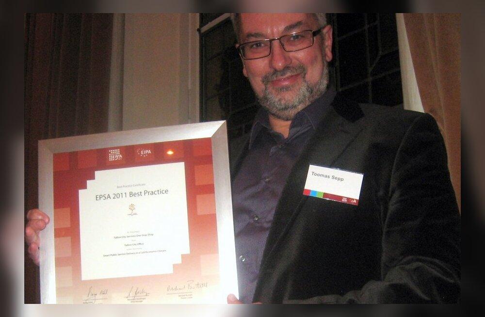 Таллинн удостоен европейского приза