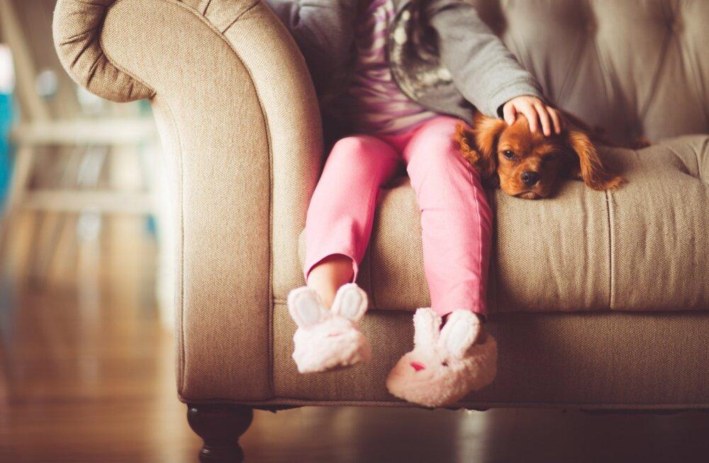 Lapsed tunnevad ära, kui inimesed on nende jaoks päriselt olemas