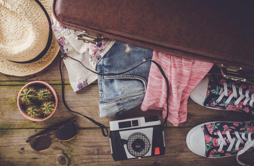 13 head nõuannet, mida võiks kohvri pakkimisel kindlasti arvesse võtta