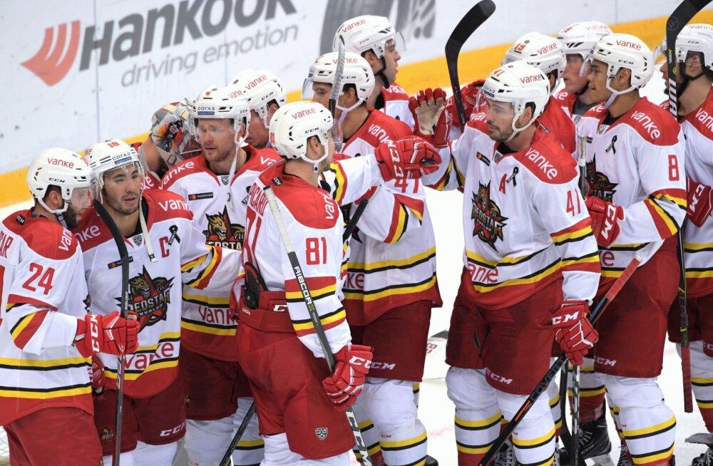 VIDEOD | KHL-is püstitati negatiivne rekord, Red Star alistas valitseva meistri