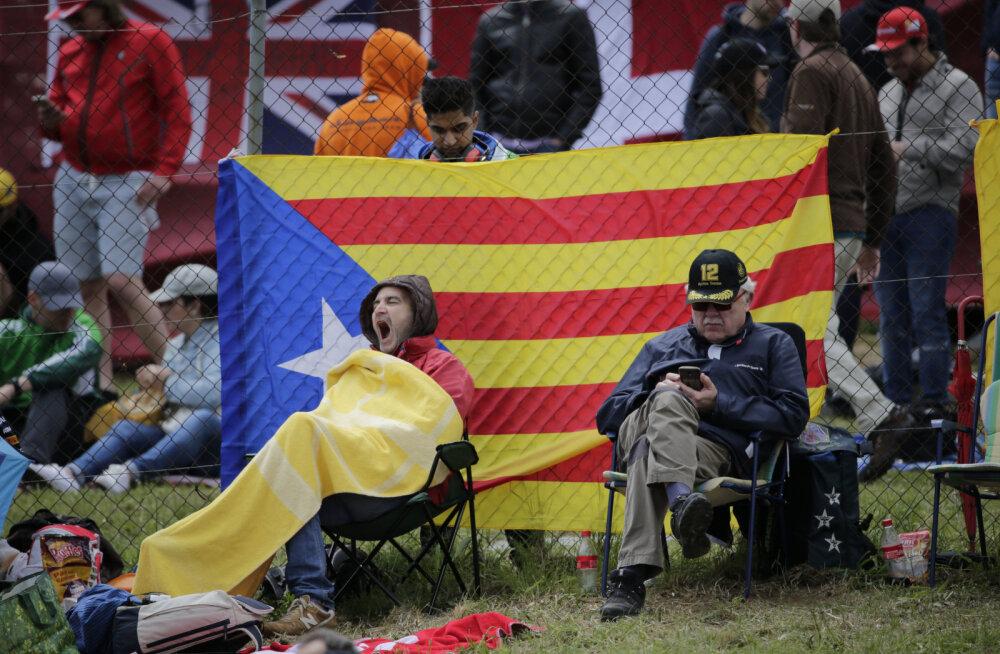F1 etapil mängitud Kataloonia hümn ärritas Hispaania autospordijuhte