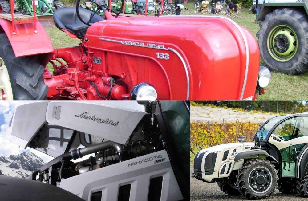 FOTOD | Vaata, millised näevad välja Lamborghini, Porsche ja Ferrari traktorid
