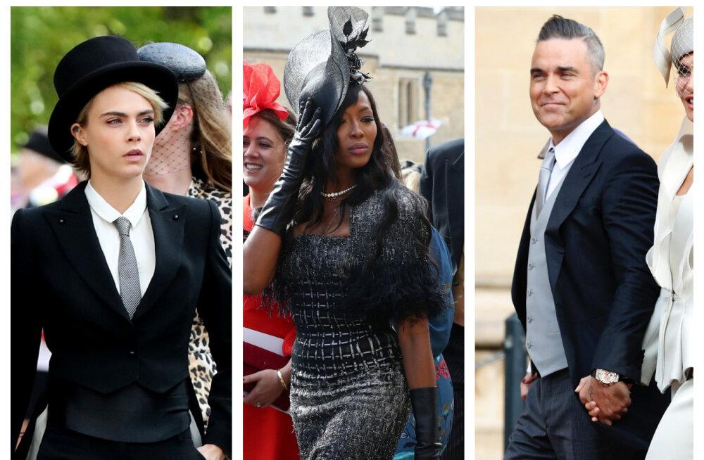 FOTOD | Vaata, millised staarid käisid kuninglikus pulmas
