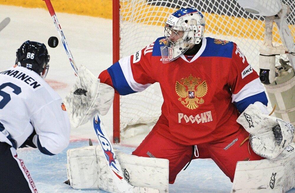 Jäähoki Soome vs Venemaa