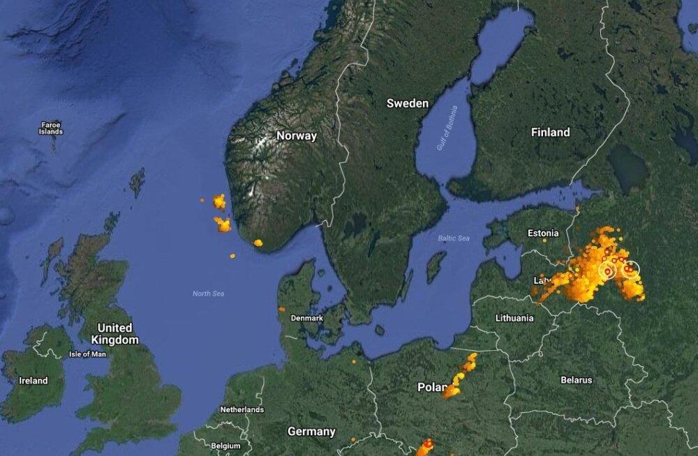 PILTUUDIS | Suur äikesetorm läks Eestist mööda, oodata on vaid kohatisi piksevihma valinguid