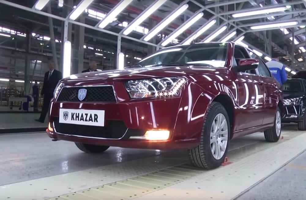 Uhiuus autobränd Khazar toob Aserbaidžaani taas autoriikide sekka
