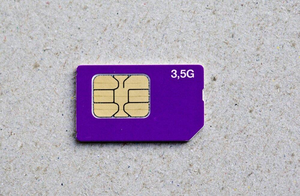 Kommersant: venemaalased peavad hakkama kasutama FSB heaks kiidetud SIM-kaarte