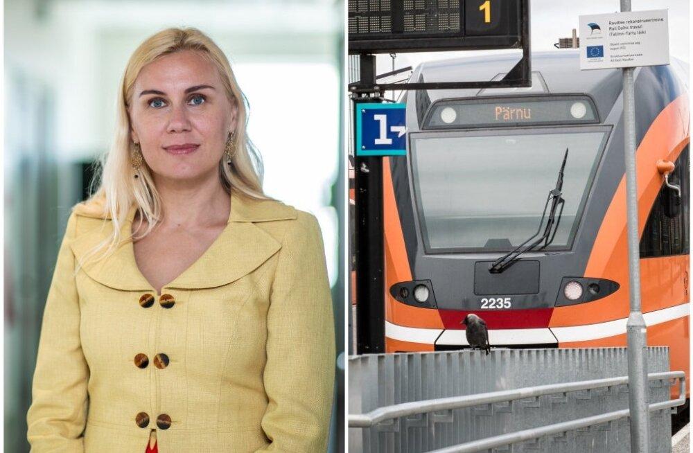 Железнодорожное сообщение Таллинн-Пярну прекращается: Rail Baltic спешит на помощь
