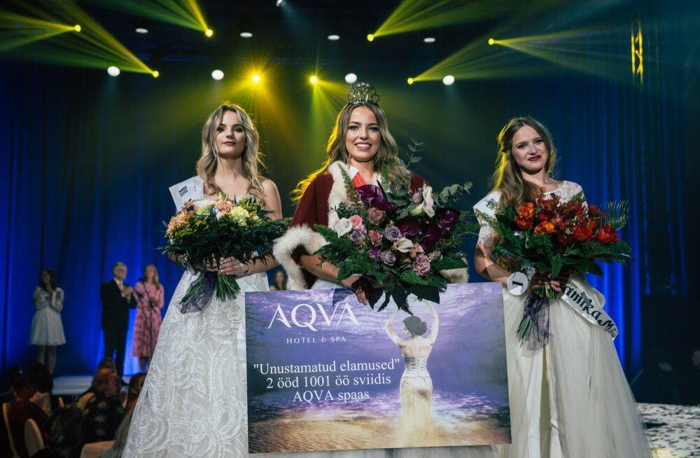 Miss Raplamaa 2018 - Anni Velks; I printsess - Alondra Saar;  II printsess - Katrin Sillavere