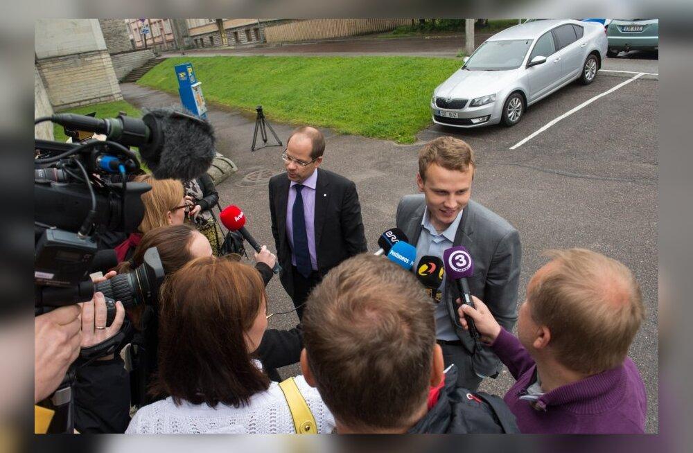 Priit Toobal ja Lauri Laasi kohtus