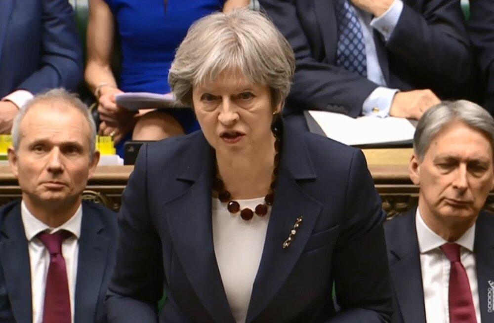 VIDEO   May: Suurbritannia saadab riigist välja 23 Vene diplomaati, kontaktid Venemaaga peatatakse