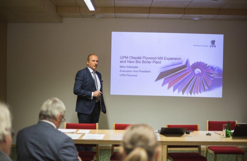 UPMi asepresident Mika Sillanpää