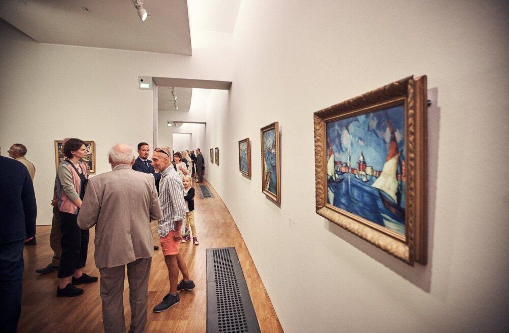 Konrad Mägi näituse avamine Kumus