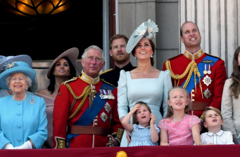 Millistel Briti kuningapere liikmetel on salajased sotsiaalmeediakontod?
