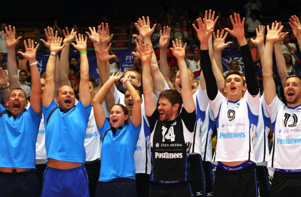 Kellega Maailmaliiga kolmanda tugevusgrupi võitnud Eesti järgmisel aastal vastamisi läheb?