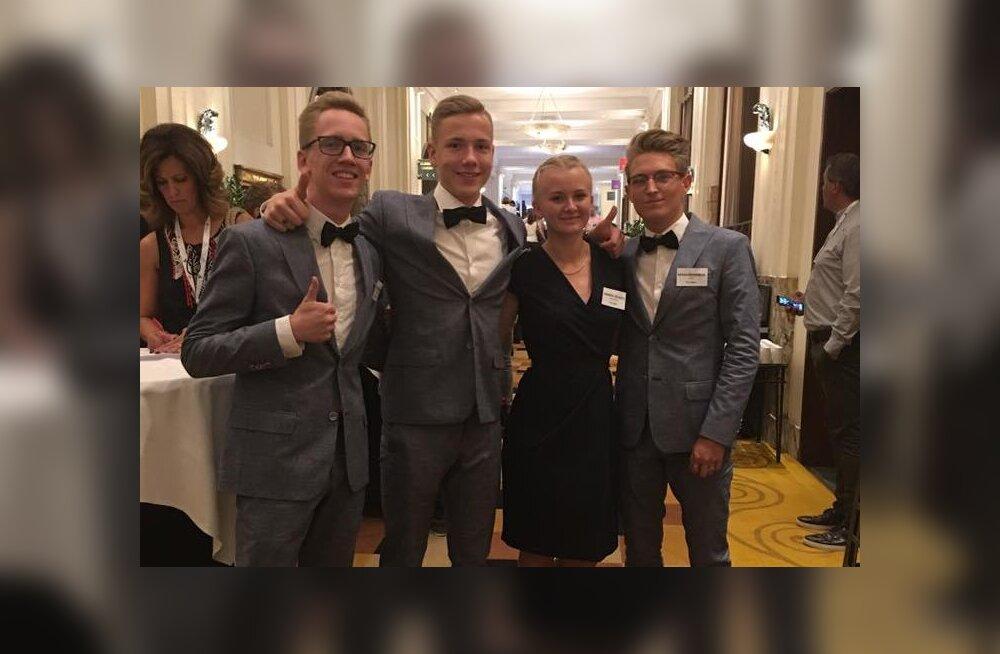 Õpilasfirma Festera jahib Euroopa parima õpilasfirma tiitlit