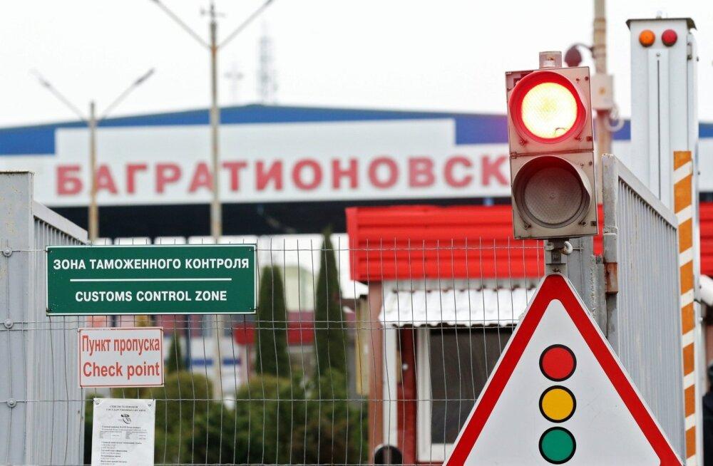 Bagrationovski tollipunkt Venemaa-Poola piiril Kaliningradis.