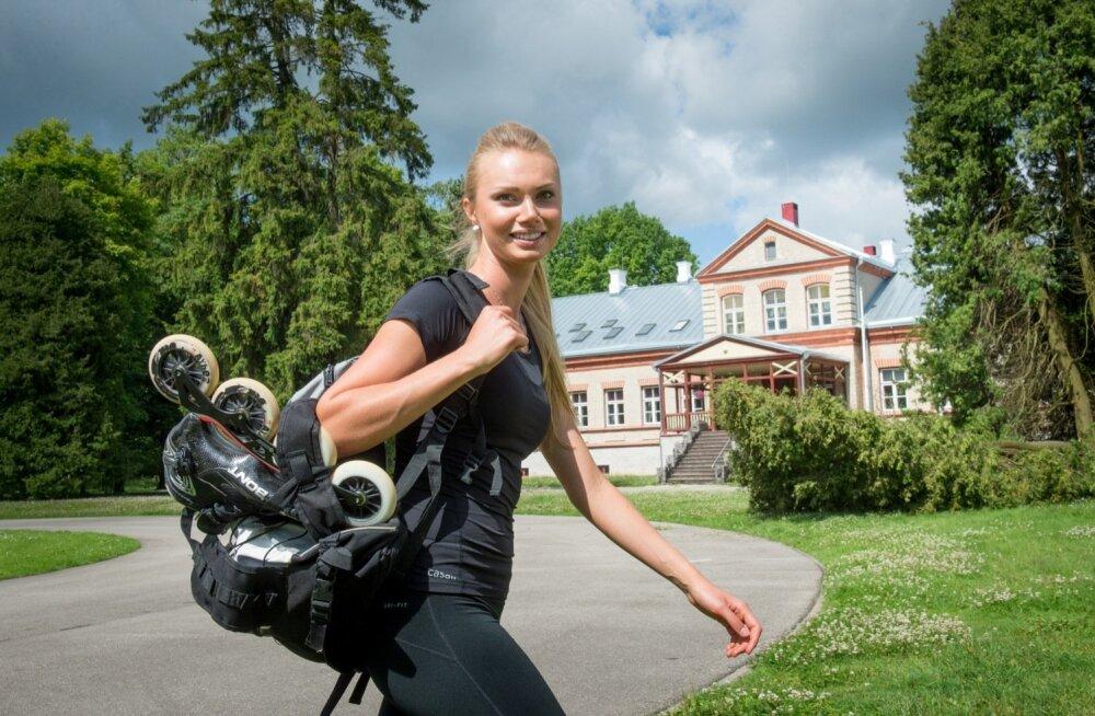 Saskia Alusalu arvates on Eesti rekordid purustatavad ja pääs olümpiale võimalik.