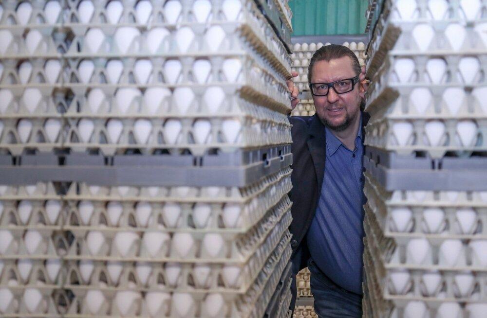 Dava Foods Estonia tegevjuht Vladimir Sapožnin tahab Eggoga lõunanaabrite odavad munad turult välja koksida.