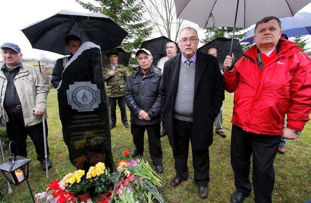 Нарвские ликвидаторы отметят 31-ю годовщину чернобыльской катастрофы