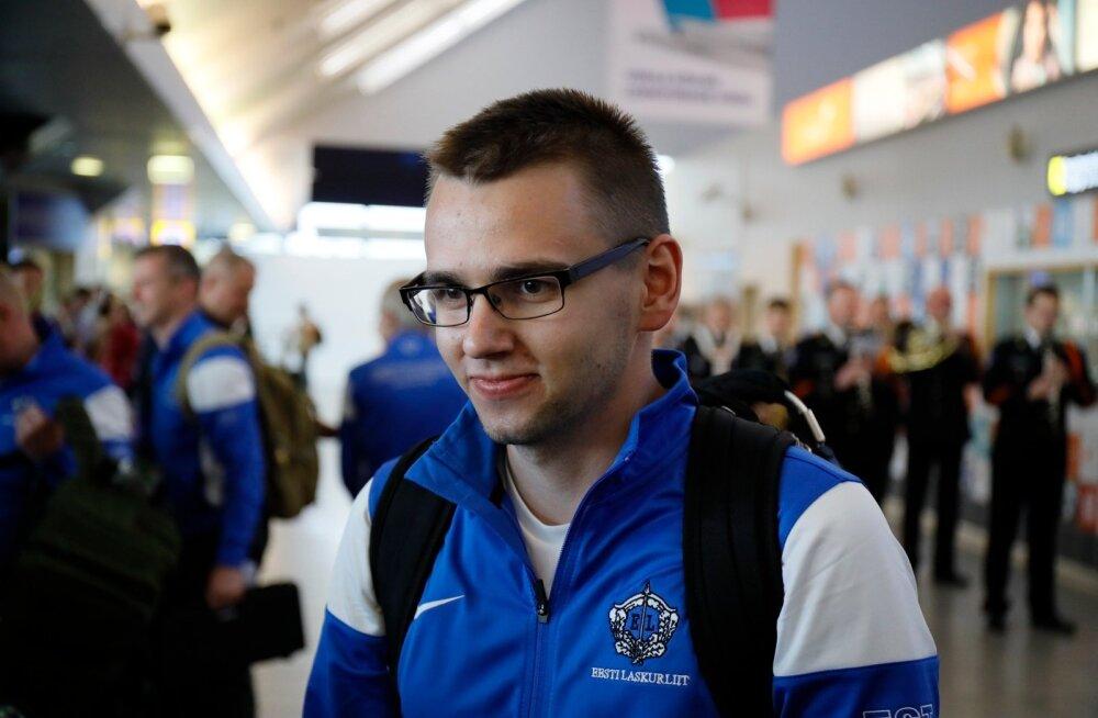 Peeter Olesk sai MM-il 11. koha