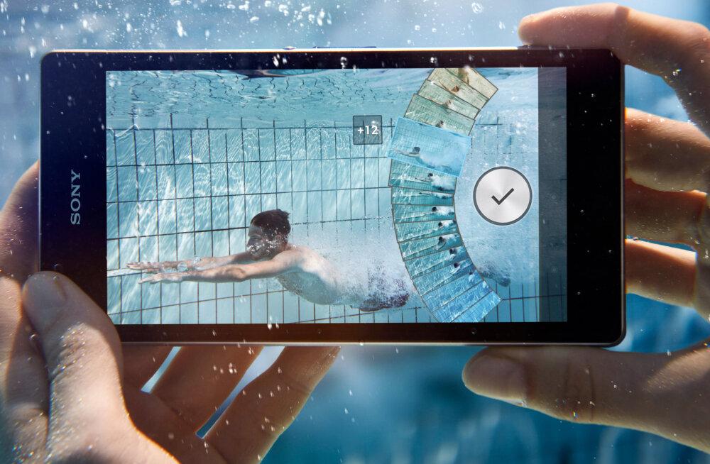 Esimene veekindel nutitelefon Sony Xperia Z1