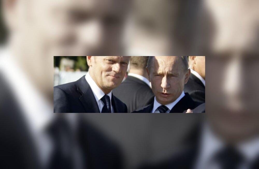 Putin ja Tusk leppisid Katõni mõrvade osas kokku