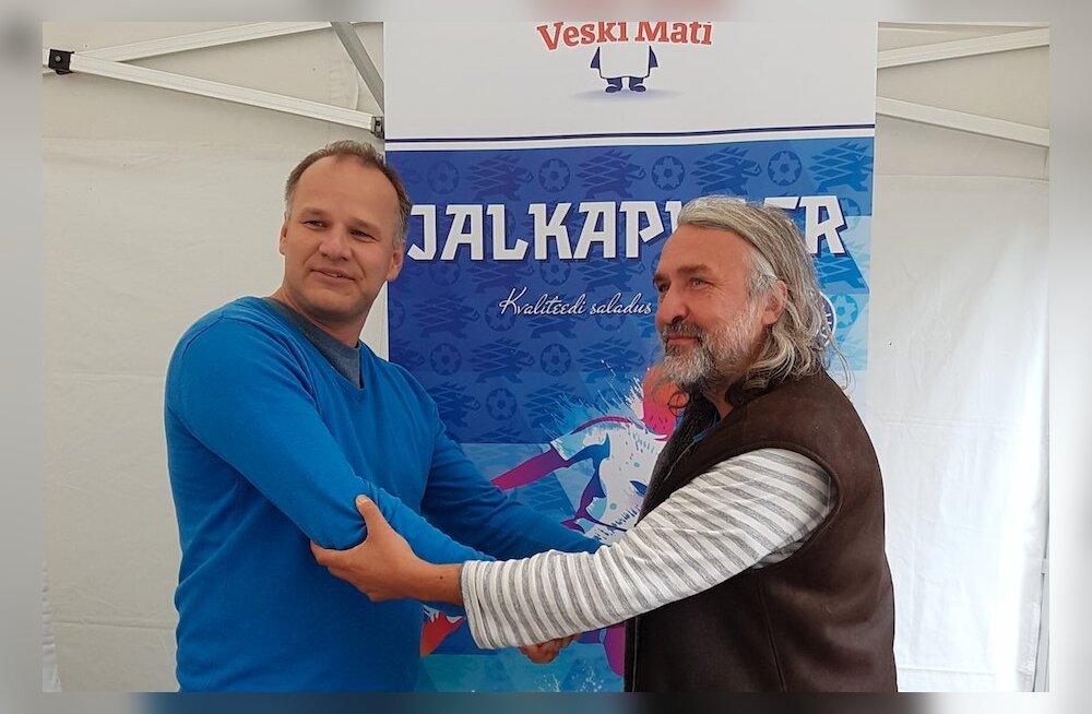 Veski Mati ja Eesti Jalgpalli Liit sõlmisid koostöölepingu