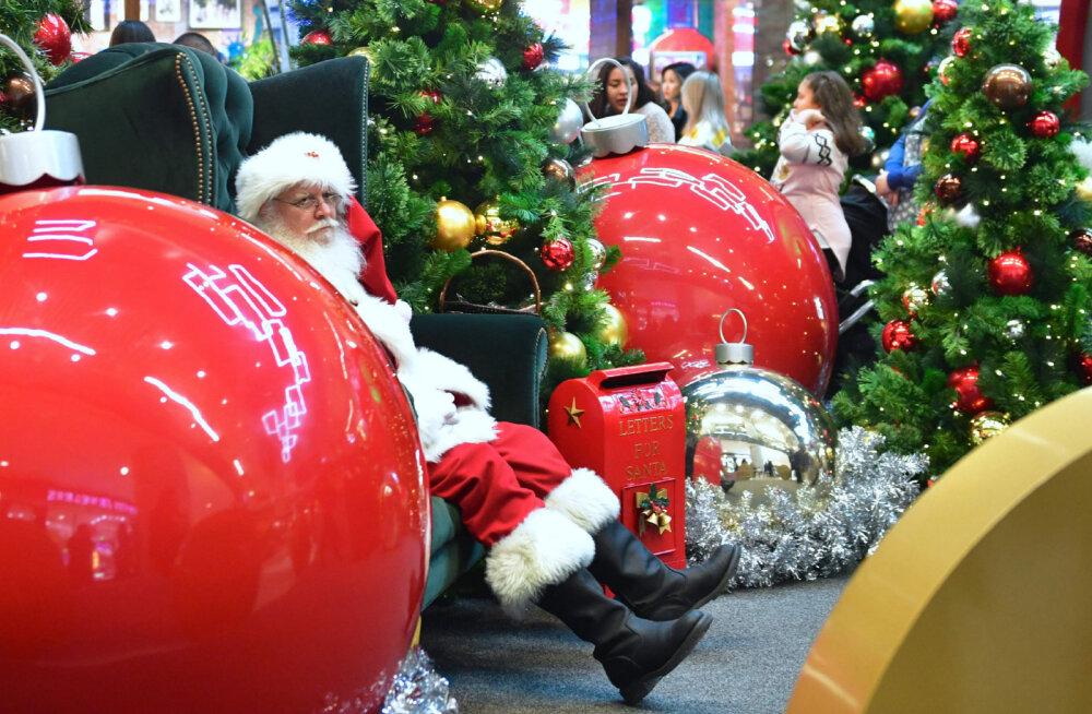 Prognoos: USA jõulumüük ületab tänavu esmakordselt triljoni dollari piiri