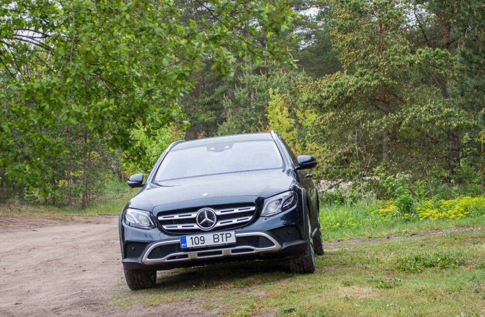 Motorsi proovisõit: Mercedes E220d All-Terrain