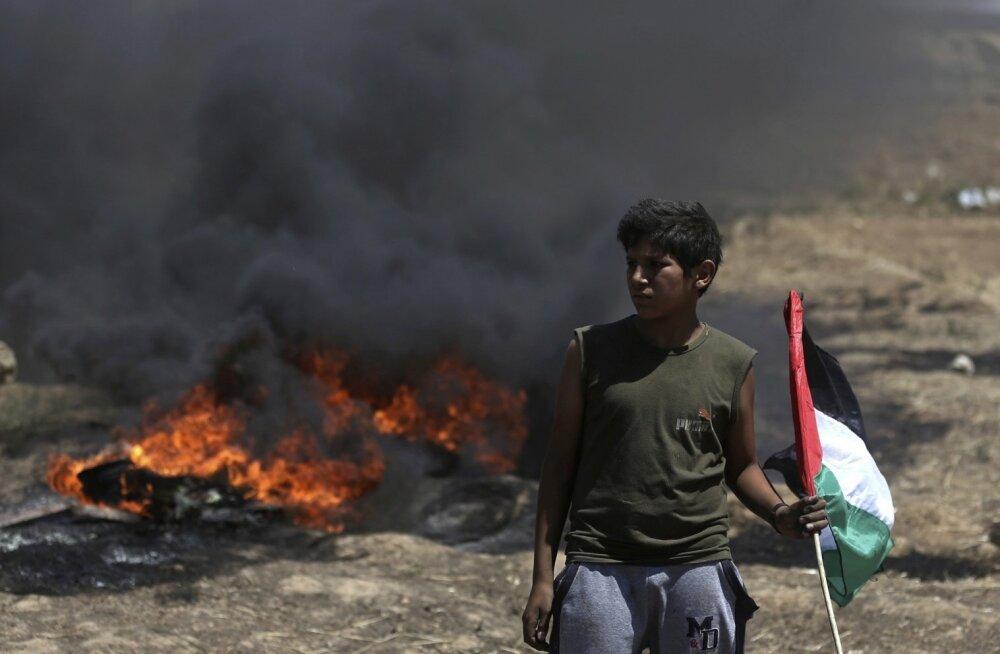 Rahutustest võtavad osa ka lapsed. Noorim mahalastud palestiinlane oli 14-aastane.