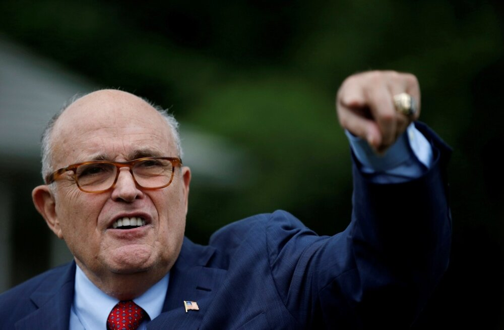 USA-TRUMP/GIULIANI