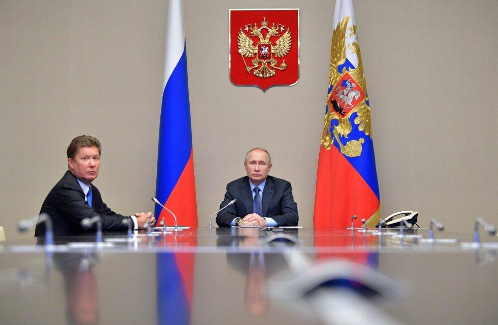 Gazpromi juht: Venemaa on Euroopa energiajulgeoleku garanteerija