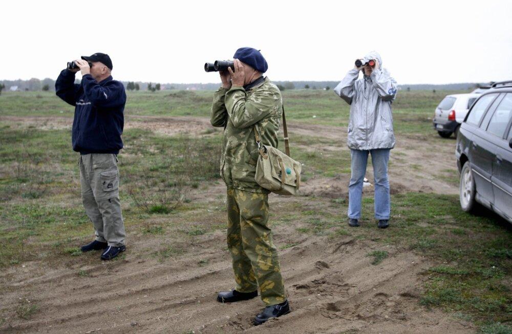 Ornitoloogiaühing kutsub nädalavahetusel vaatlema lindude sügisrännet
