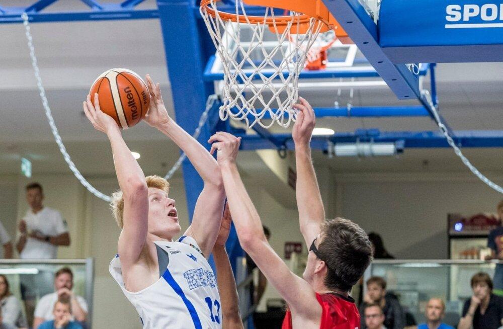 Эстонские юноши одержали вторую победу на родном паркете