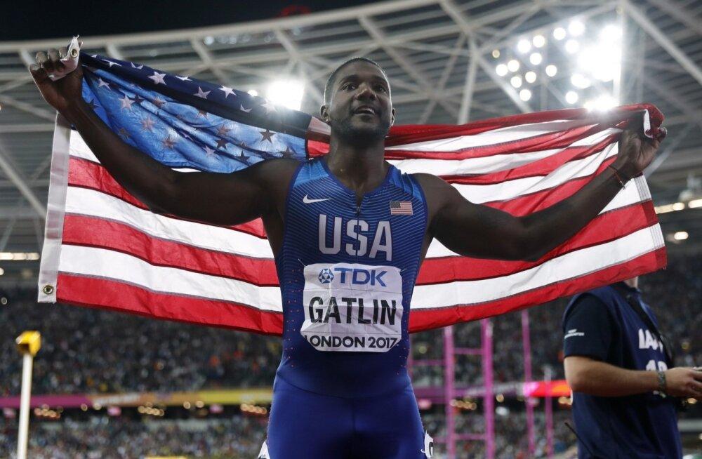 100 meetri jooksu valitseva maailmameistri Justin Gatlini kohale kerkis jälle dopinguvari.