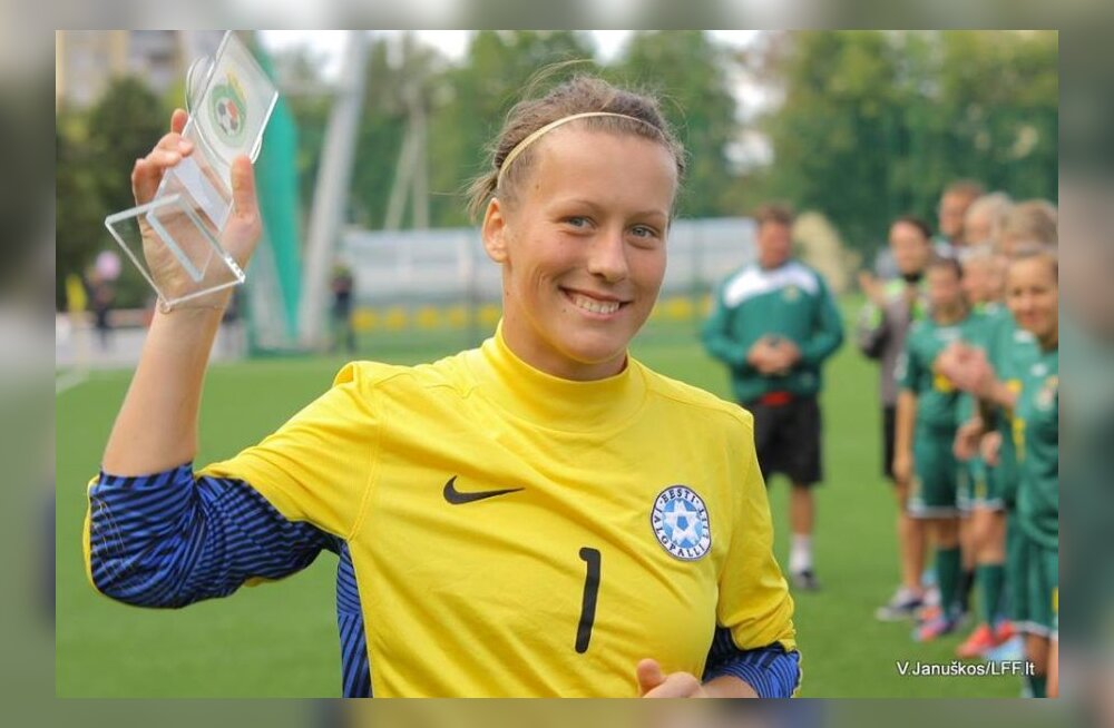 Lähedastel olid Eesti parimaks naisjalgpalluriks valitud neiule algselt hoopis teised lootused