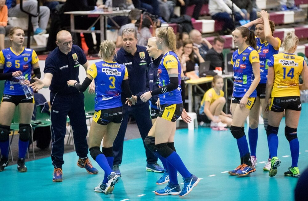Naiste võrkpall Kohila vs Belgrad