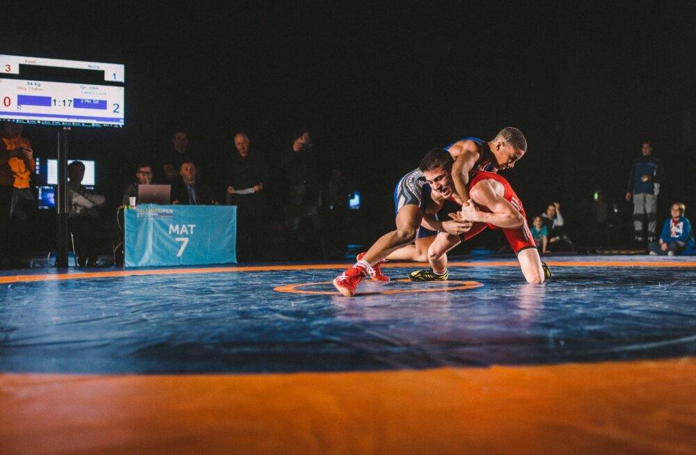 Euroopa suurim noorteturniir annab Estonian Wrest Fest maadlusfestivalile väärika avalöögi