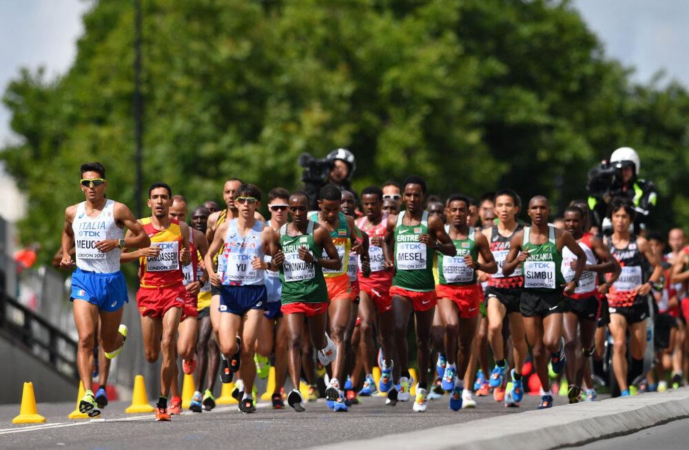 Huvitav uuendus: järgmise kergejõustiku MM-i maraton joostakse öösel