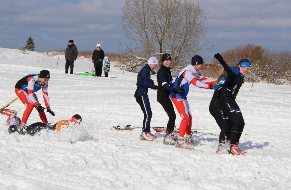 """Уже трем нарвским школам """"лыжные каникулы"""" неинтересны"""
