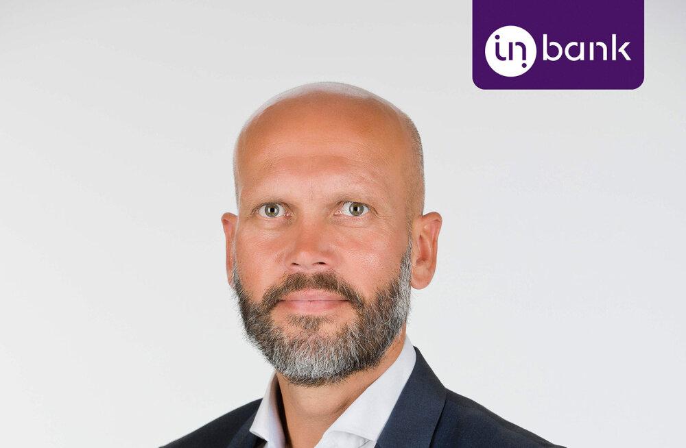 В Inbank приступил к работе новый исполнительный руководитель Маргус Кастейн