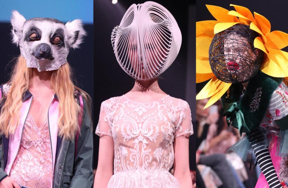 Delfi на Таллиннской неделе моды 2018: люди-подсолнухи и свадебные призраки