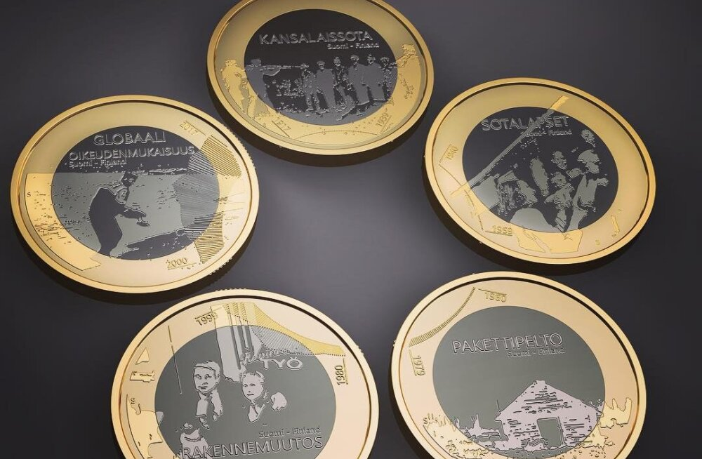 Soome juubelimündil lastakse punaseid maha. Rahandusminister: see on maitselage
