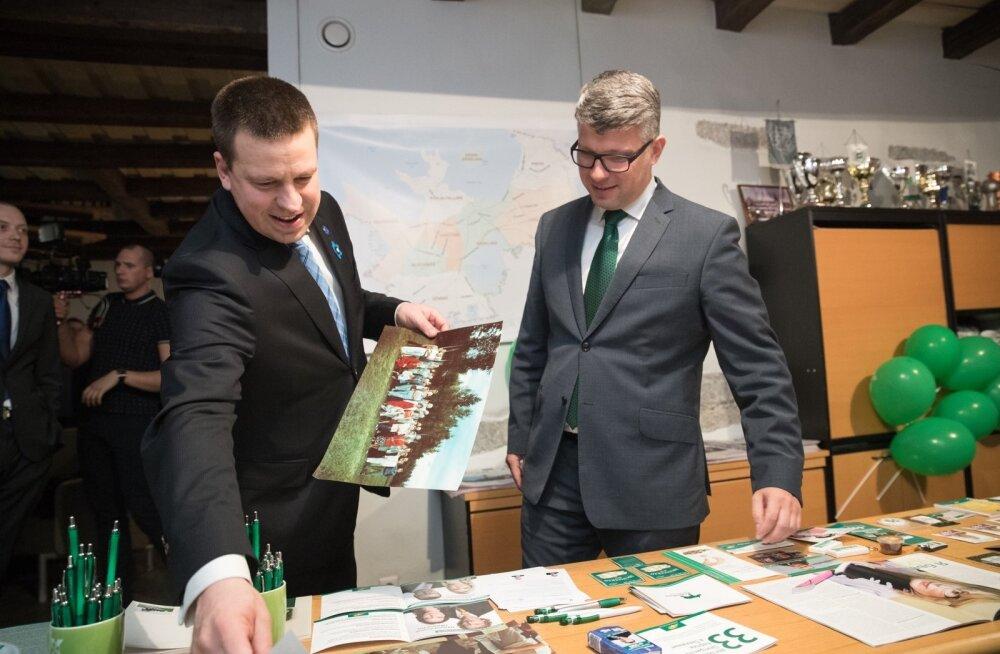 Keskerakond lahkub Toompeal asuvast büroost