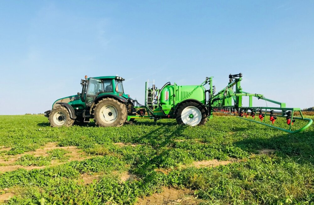 Jesserniggi taimekaitsepritsid on Austrias turuliidriks, kuid esimene Eestisse toodud prits põhjustas suure kohtulahingu.