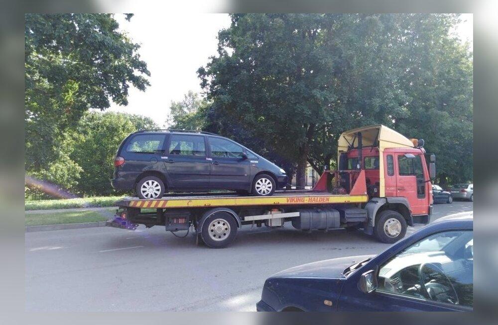 Auto äravedamine Narvas