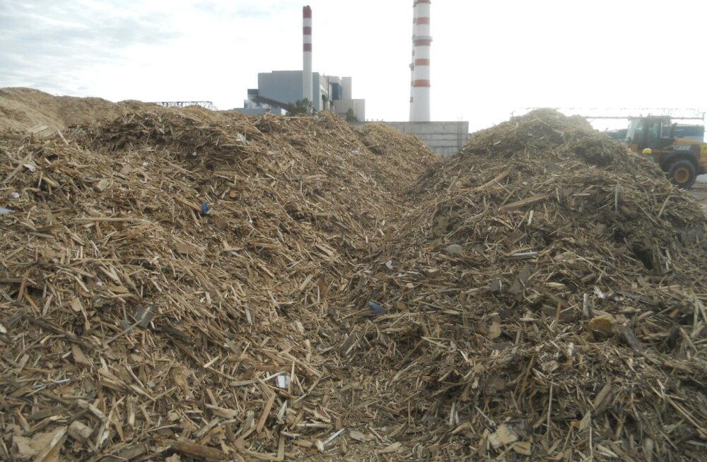 Eesti Energia расширяет возможности использования отходов древесной промышленности в производстве энергии