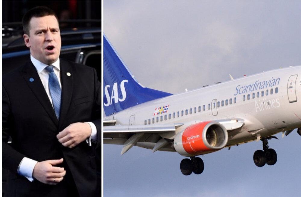 SAS Ratase olemata lennust: meile teadaolevalt ootas piloot peaministrit nii kaua kui võimalik